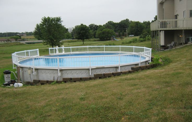 8 best pool deck images on pinterest above ground pool for Above ground pool decks tampa