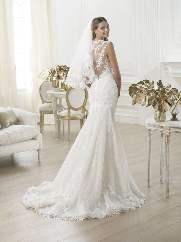 Laren - Pronovias 2015 kollekció - Esküvői ruha szalon - Menyasszonyi ruha kölcsönzés http://lamariee.hu/eskuvoi-ruha/pronovias/laren