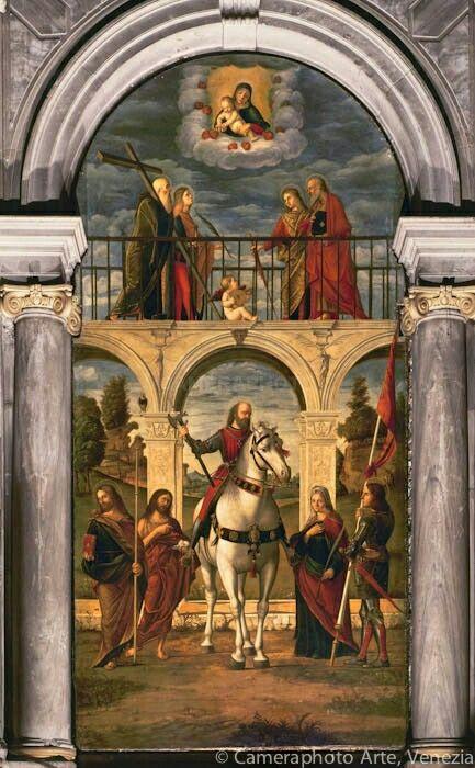 San Vidal. 1514. E bottega