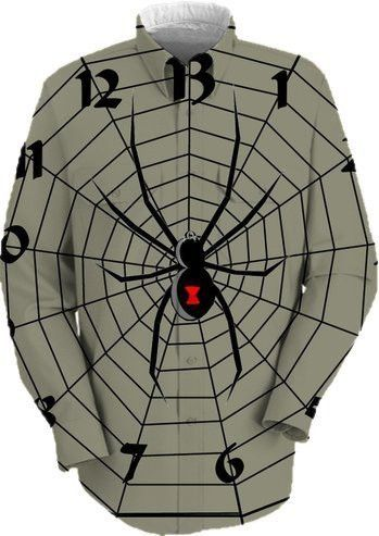 13-Hour Spider Web Clock Face! :)  http://printallover.me/collections/crichtonslover/products/13-hour-spider-web-clock-face-9