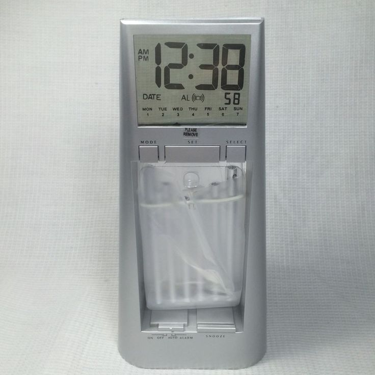 Wind Chime Alarm Clock Wake Up Gentle Sounds Electronic Snooze LCD #Unbranded #Asian
