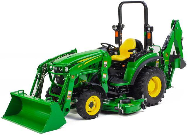 Compact Tractors | 2038R Compact Tractor | JohnDeere US