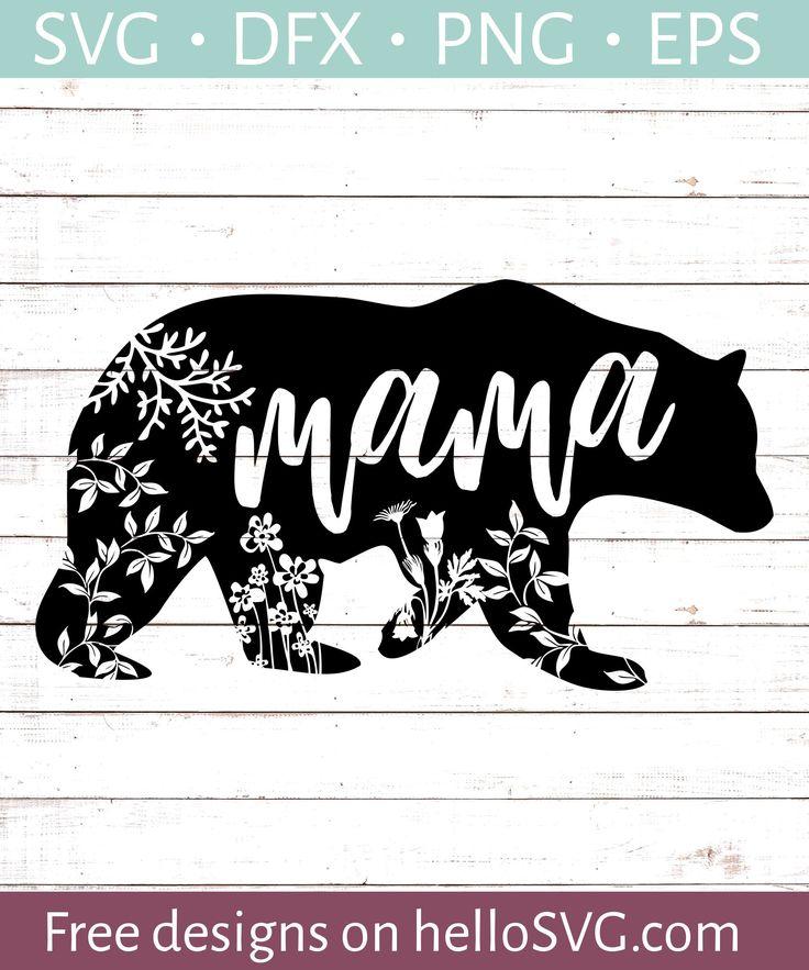 Mama Bear 1 Cricut svg files free, Svg free files, Free svg