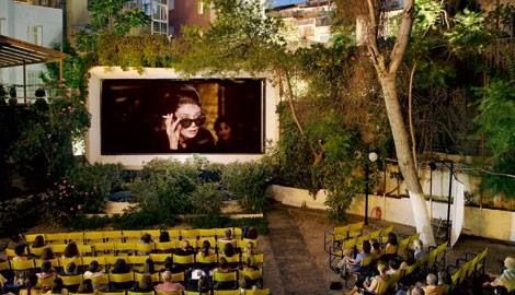 Outdoor cinema in Athens = one of the best things to do to soak up the summer