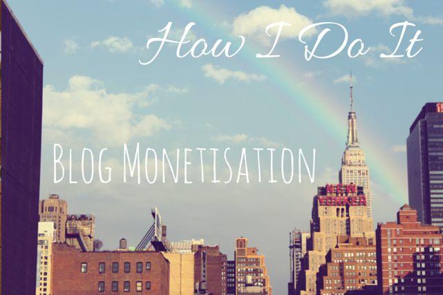 How I Do It: Blog Monetisation via christineknight.me