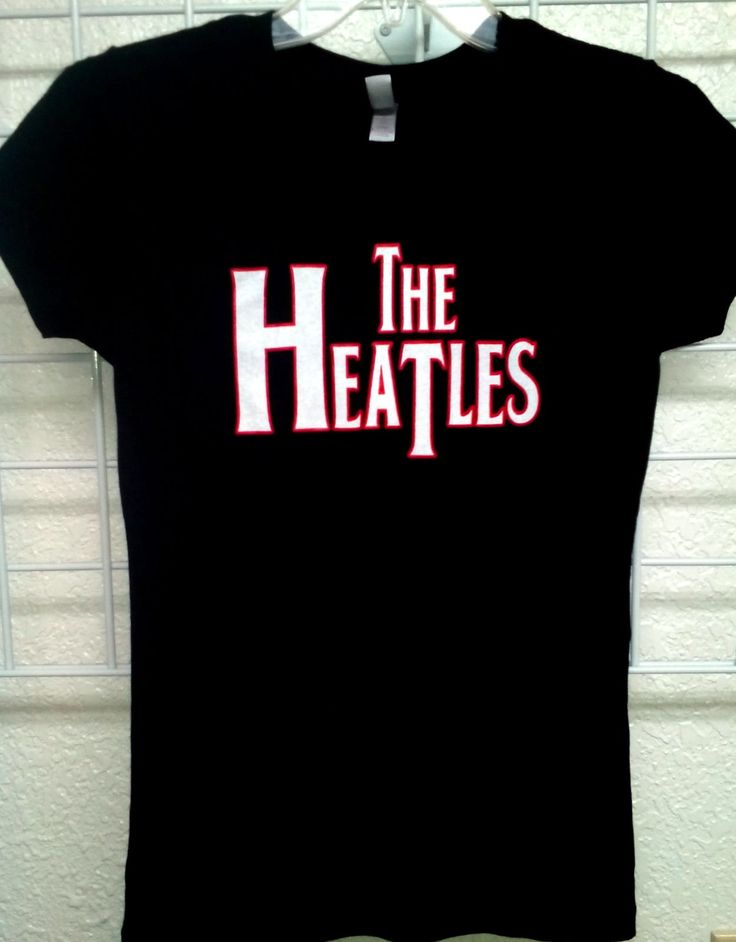 Miami Heatles Ladies Shirt! On SALE Now! Available @ www.CanesWear.com for all of your #MiamiHeat #fangear needs! #Miami #Heat #threepeat #Caneswear #Miamifanwear #MiamiHeat2014 #Easterconference #Tshirt #nba #theheat #HeatNation #TheHeatles