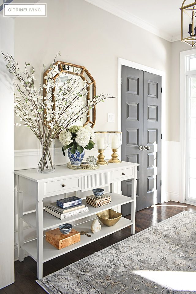 Front Entryway Decorating Ideas For Every Season Front Entryway