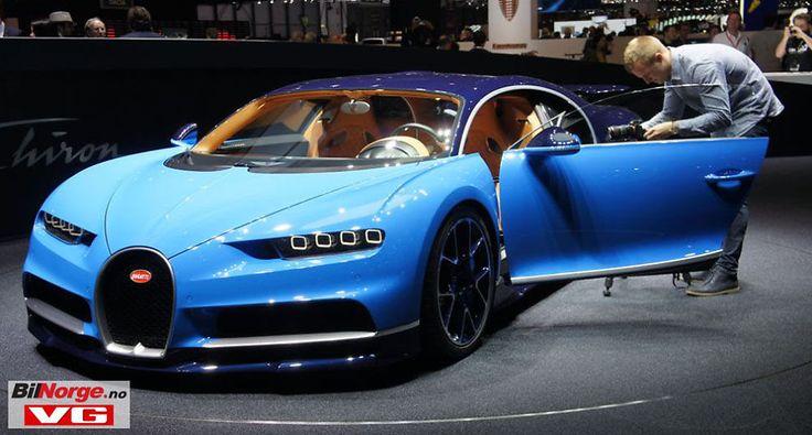 SUPERBIL: Blant alle superbilene i Genève er det nok Bugatti Chiron som tiltrekker seg mest oppmerksomhet. Men det fins mange alternativer for de som kan velge på øverste hylle.