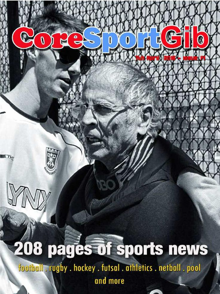 Coresportgib 7th april 2016 issue 14