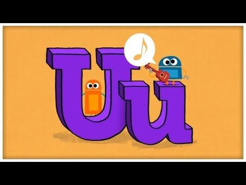 """Download this song for FREE → http://sbot.co/letter-u  Get iPhone & iPad App → https://itunes.apple.com/us/app/id602865579    """"Unstoppable U"""" brings the 21st letter of the alphabet to life, and is part of the StoryBots ABC Jamboree Series (from the team that brings you JibJab with music by Parry Gripp).   The StoryBots celebrate how unstoppable the ..."""