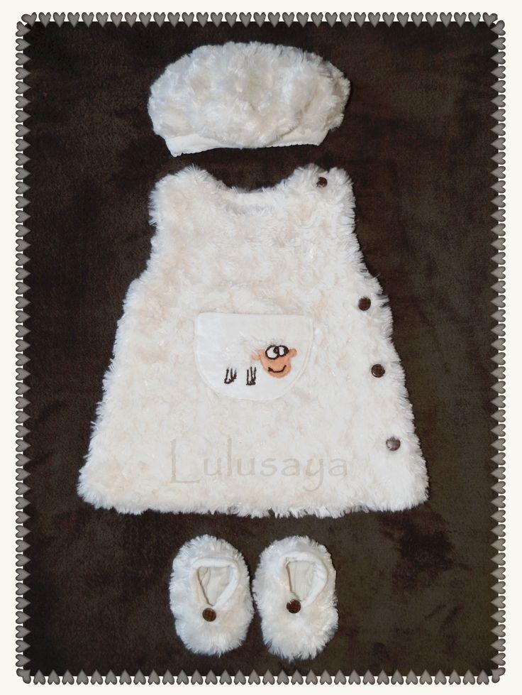 Ensemble mouton tout doux pour bébé by Lulusaya