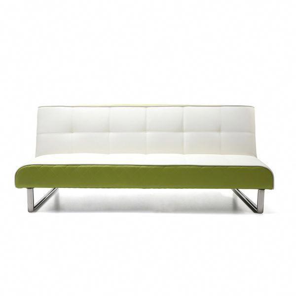Seattle White And Green Futon Sofa Bed Futon Sofa Bed Futon
