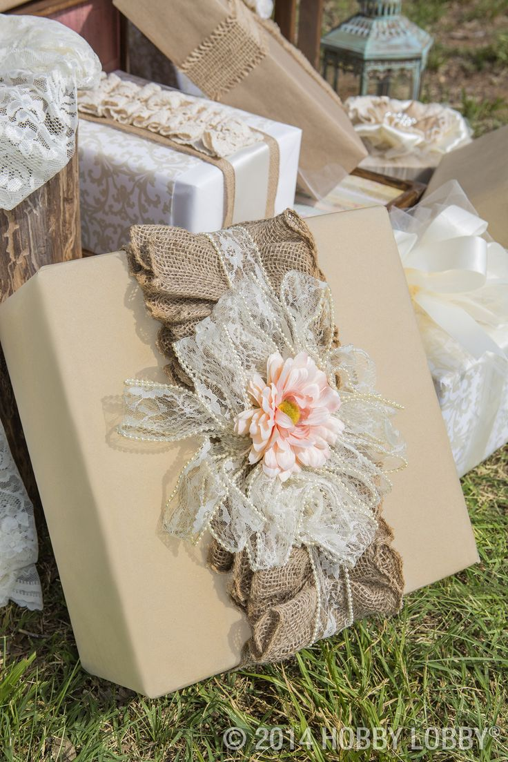 Wedding Gift Wrap : Wedding Gift Wrapping on Pinterest Gift wrap diy, Gift wrapping ...
