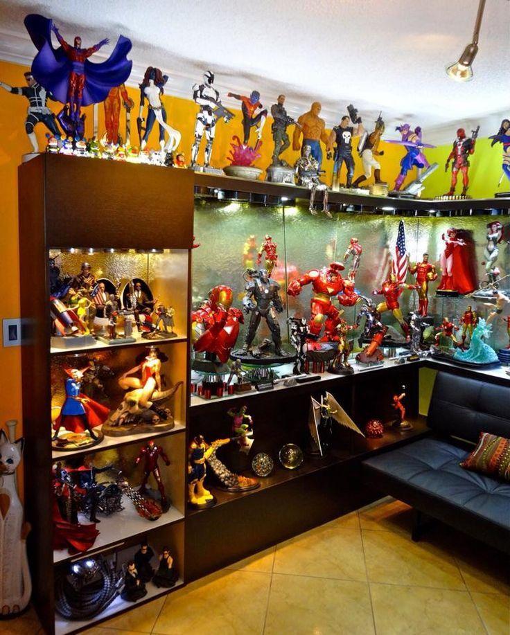 Man Cave Storage Wars : Best figure display ideas images on pinterest