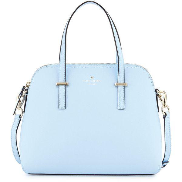 Kate Spade New York Cedar Street Maise Satchel Bag 310 Liked On Polyvore Featuring Bags Handbags Sky Blue Handbag Sa