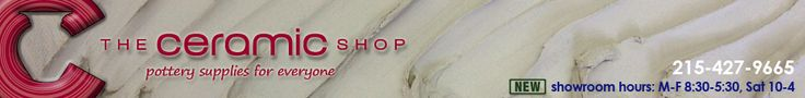 Discounted ceramic supplies for schools, professionals and beginners - The Ceramic Shop - The Ceramic Shop