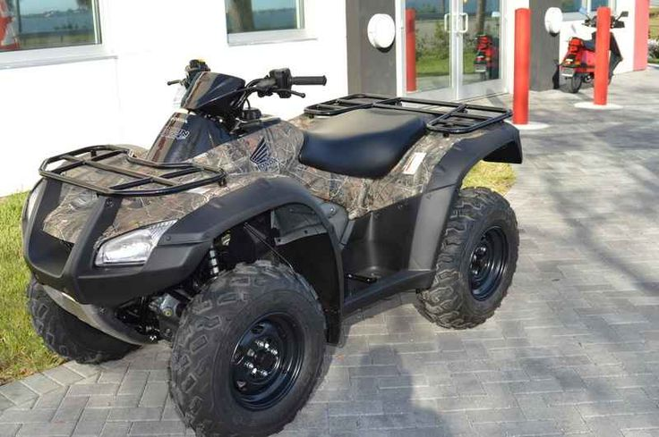 New 2017 Honda FourTrax Rincon Honda Phantom Camo ATVs For Sale in Florida. 2017 Honda FourTrax Rincon Honda Phantom Camo, 2017 Honda® FourTrax® Rincon® Honda Phantom Camo® Who Says You Have To Rough It? The outdoors can be a rough place hot, cold, wet, dry, rocky, muddy, steep. But the smart outdoorsman or outdoorswoman knows that you don t have to suffer. They find a way to smooth it instead of roughing it. And the Honda Rincon is one of the most refined, smooth, comfortable ATVs to ever…