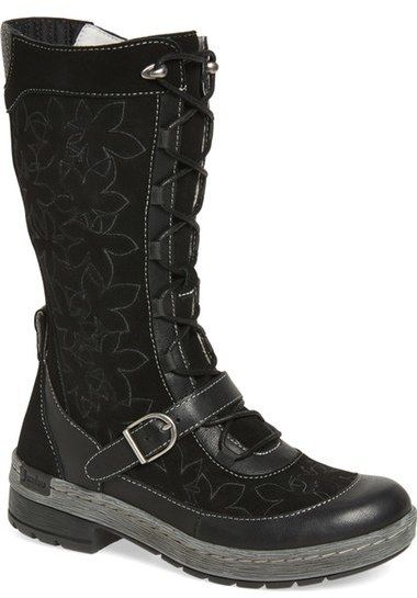 Jambu 'Hawthorn' Embroidered Mid-Calf Water-Resistant Boot (Women)