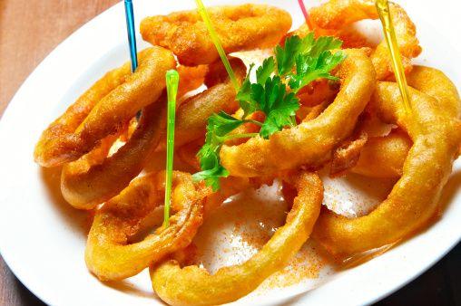 Anelli cipolla cotti al forno -Junk Good-
