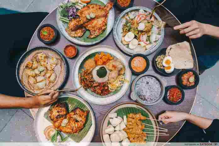 Sama Sama Review New Indonesian Restaurant With Huge Coconut Rice Platter And Super Spicy Gado Gado Coconut Rice Restaurant Dishes Tacos And Burritos