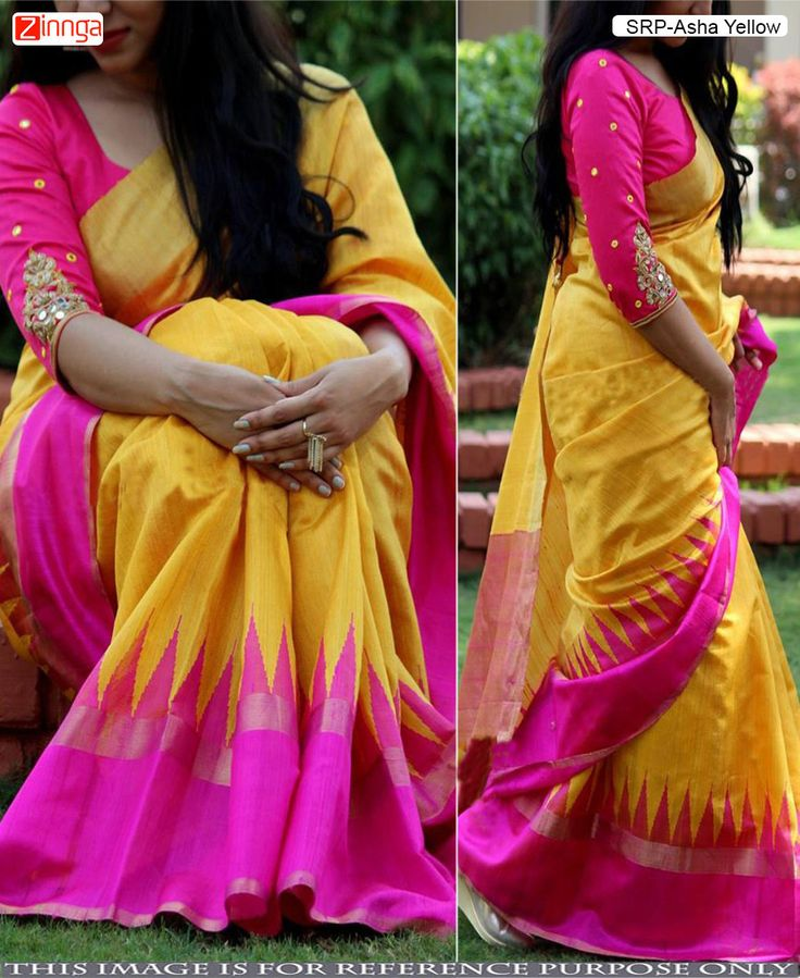 Yellow Color Bhagalpuri Cotton Saree With Blouse #Sarees #Saris #Fashion #Looking #Popular #Offers #Deals #Fashionable #Zinnga #Zinngafashion #Offers #Deals #Picoftheday #Photooftheday
