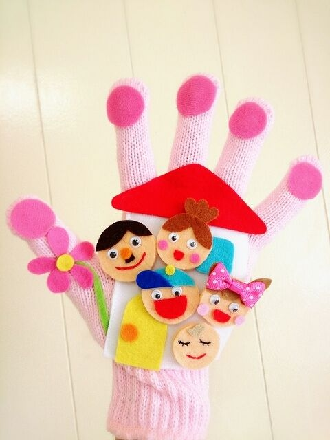 おはなしゆびさん♪ の画像|amicoの手袋シアター♪