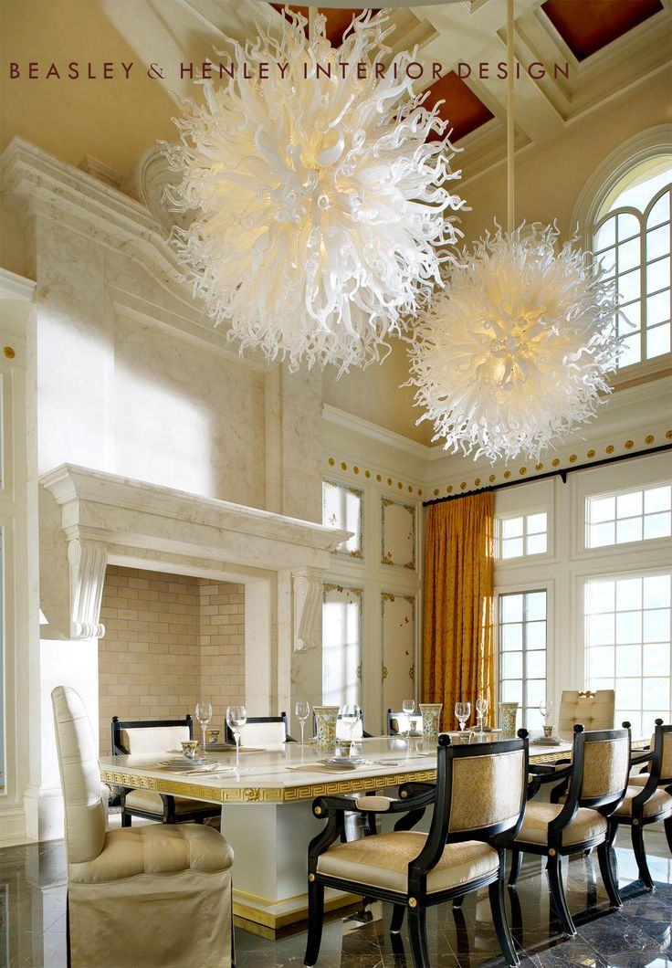 find this pin and more on glamorous dining rooms by msmillionairess - Transitional Dining Room Chandeliers