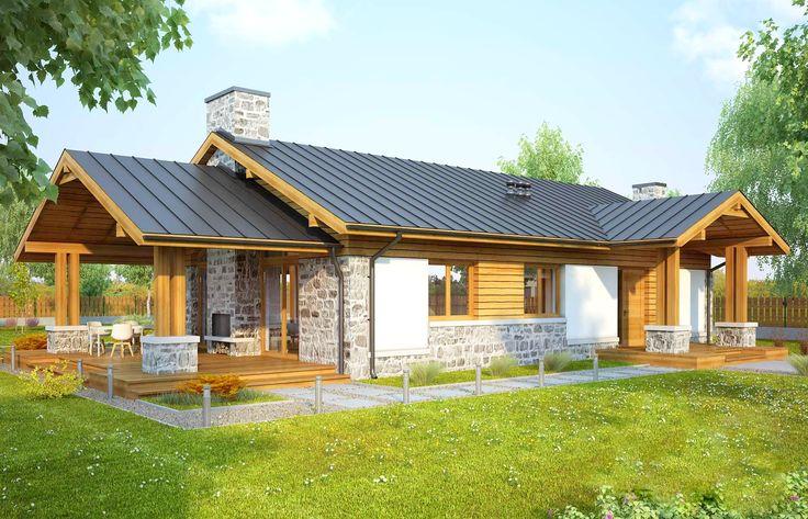 Casă de vis cu influente rustice in suprafată de 112 m²