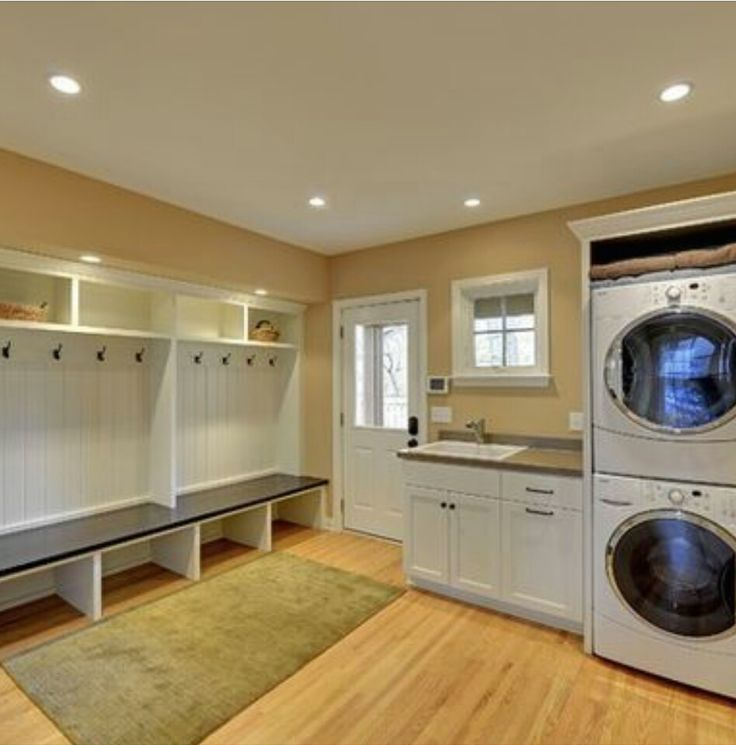 1000 ideas about unfinished laundry room on pinterest for Basement mudroom ideas