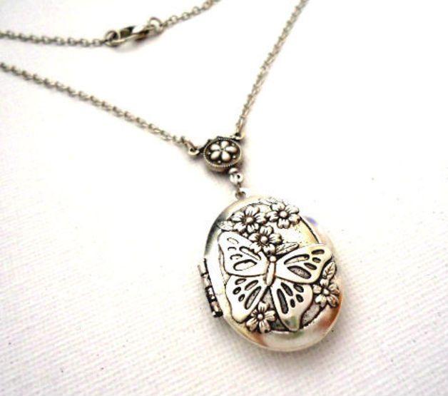 Antieke zilveren foto medaillon ketting vrouwen ketting veilig uw foto of geheim in dit leuke medaillon mooi cadeau voor haar.   **Productie methode**  100 % handwerk, gemaakt met liefde !  ...
