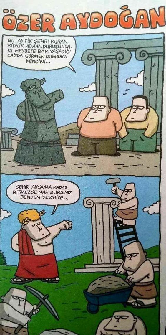 charming life pattern: karikatür - özer aydoğan - ... yaşadığı çağda görm...