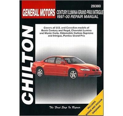 New Chilton Repair Manual Chevrolet Lumina 2000 99 98 97 Pontiac Grand 28380   eBay $32.41