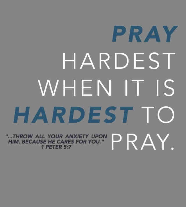 "1 Thessalonians 5:17 - ""Pray incessantly"""