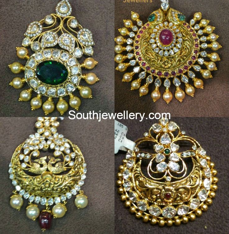antique pacchi pendants