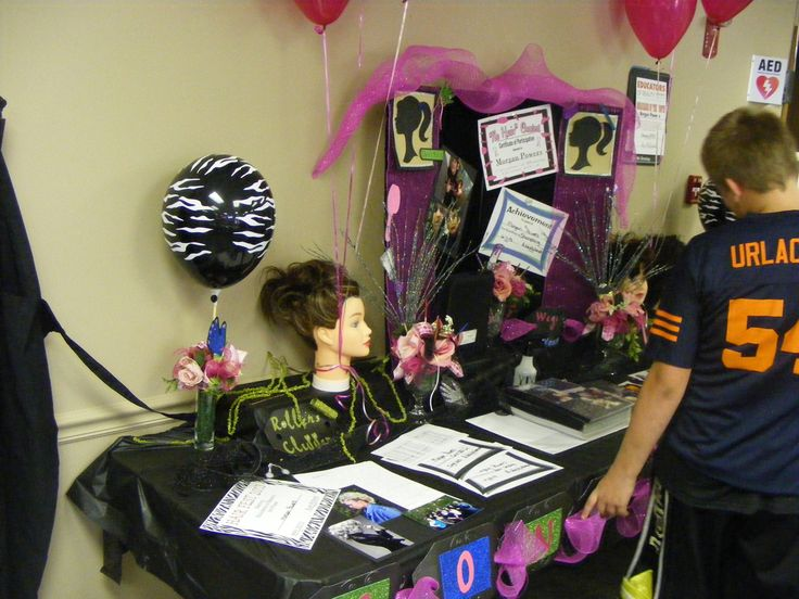 Cosmetology graduation party