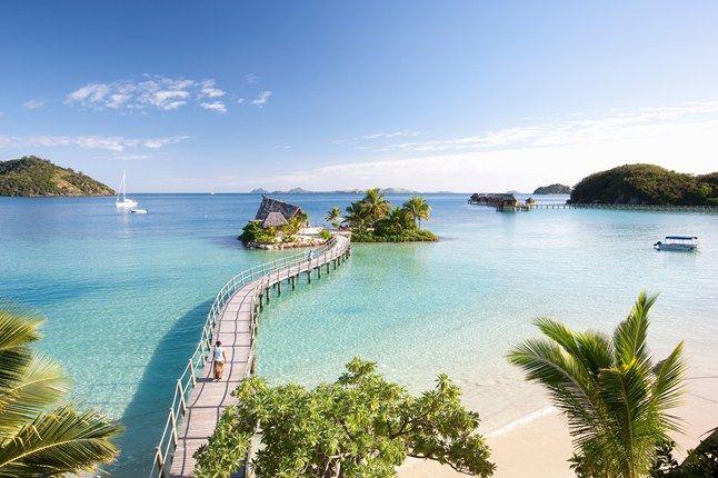 Jetty to heaven at Likuliku resort, Fiji  |   cntraveller.com's most romantic hotels in the world