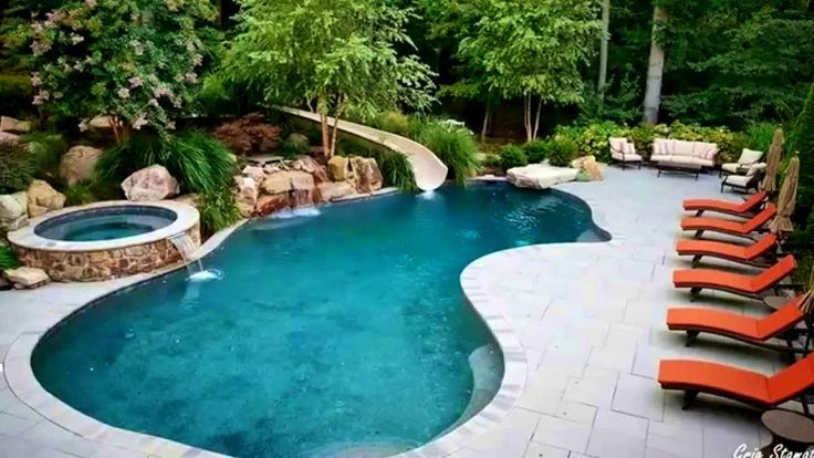 25 best ideas about kidney shaped pool on pinterest for Images of kidney shaped pools