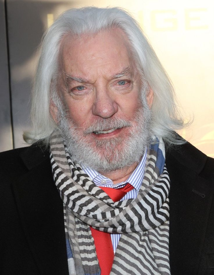 incredible images of Donald Sutherland