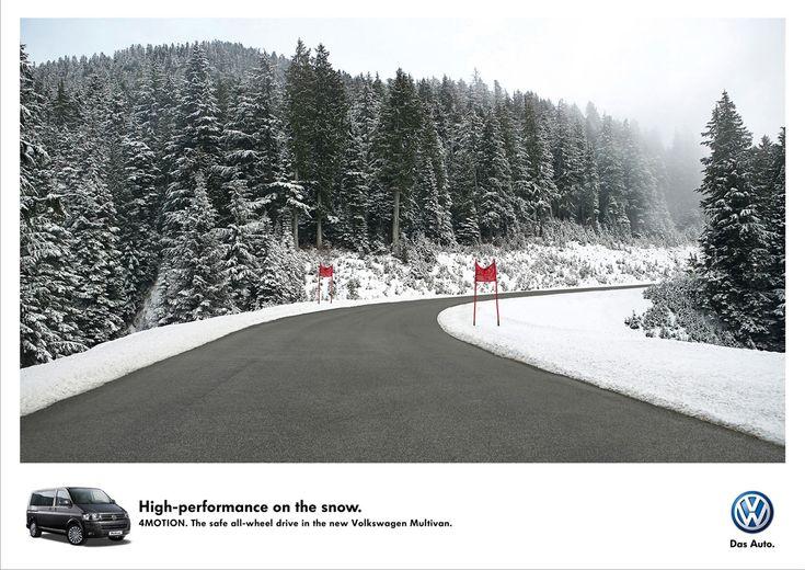 Volkswagen: Ski run   Ads of the World™