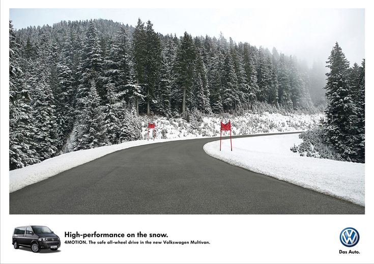 Volkswagen: Ski run | Ads of the World™