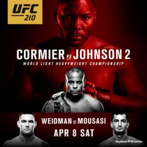 Watch UFC 210 Online UFC 210 Live Stream MMA PPV UFC Well ordered guidelines to watch UFC 210 cormier vs johnson 2 live on the web? Just in HD Quality You Are @ the right place as you know wtflivetv is providing ufc streams from last 6 years in hd quality we are also going …