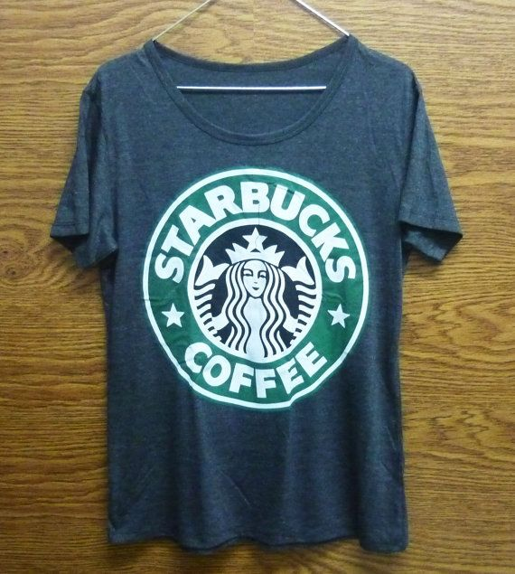 Starbucks tshirt size S/M/L/XL plus size women t shirt/ shirt/ short sleeve/ crew neck t shirt $13