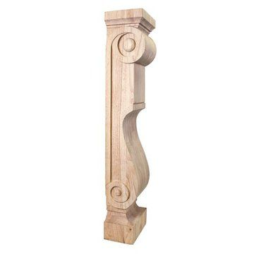 Legacy Heritage Scandinavian Fireplace Mantel Leg Corbel