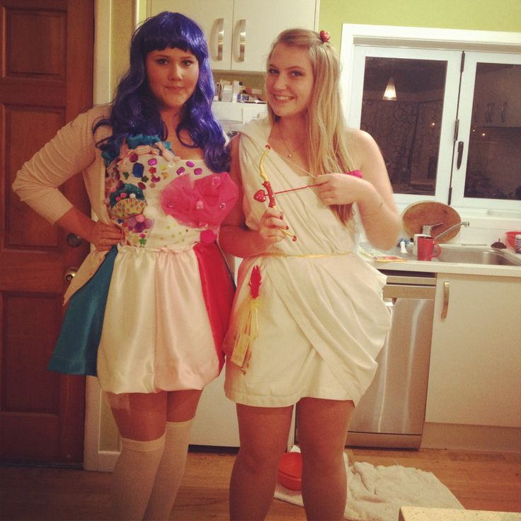 Homemade Katy Perry and Cupid costumes! Cute, easy and ...