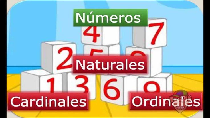 Números Naturales: Cardinales y Ordinales