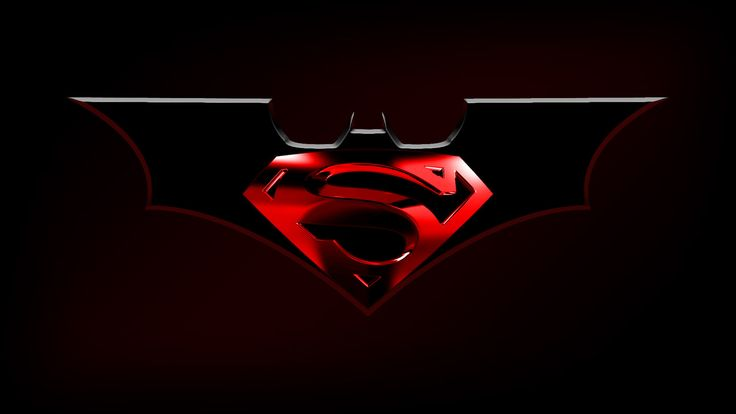Batman logo | Batman Superman logo by ~Balsavor on deviantART