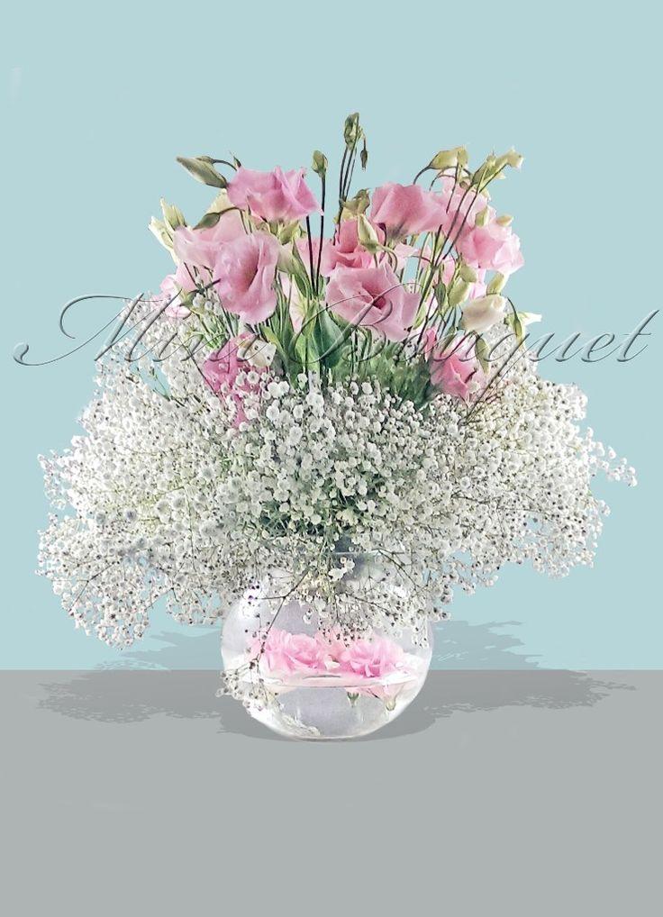 Söz ve Nişan Çiçekleri _Pembe Lisyantus