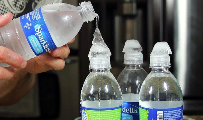 How to Make Water Freeze into Ice Instantaneously « Science Experiments - at home chemistry experiments
