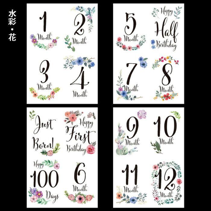 カード 手作り マンスリー かわいい月齢フォトを撮ろう!星形月齢カードの作り方. マンスリーフォト・マンスリーカード