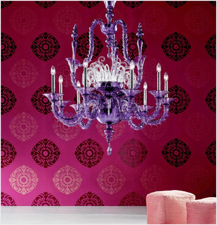Might need to turn MT's chandelier purple one day!